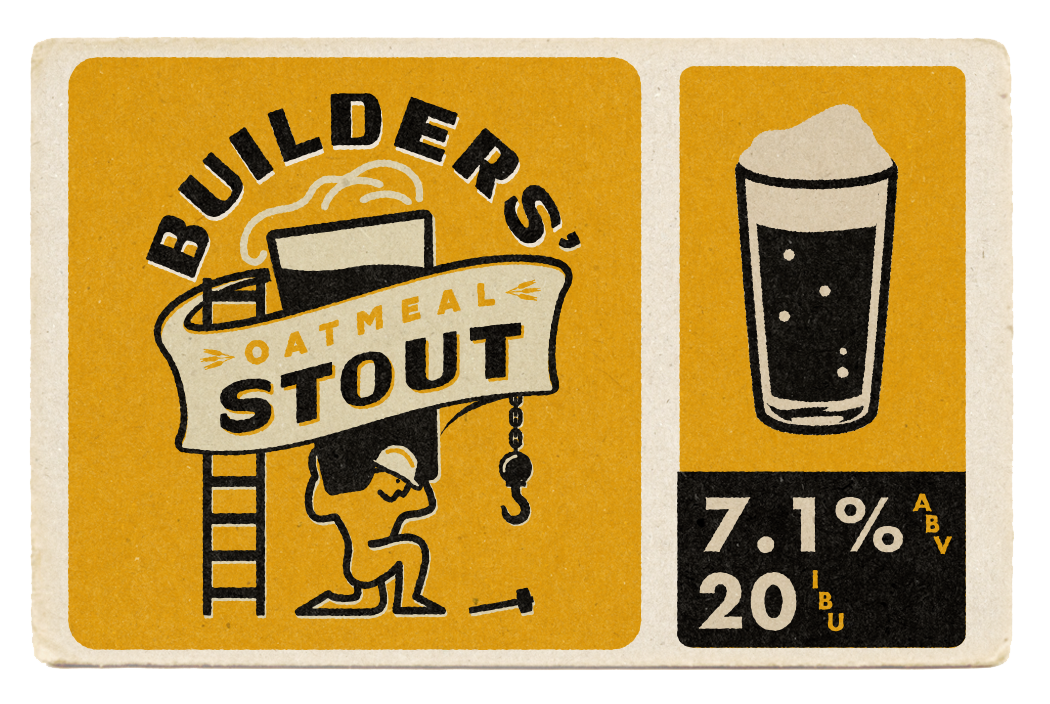 Builders' Oatmeal Stout